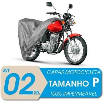 2 CAPAS COBRIR MOTO IMPERMEÁVEL PROTEÇÃO Uv P