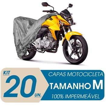 20 CAPAS COBRIR MOTO IMPERMEÁVEL PROTEÇÃO Uv M