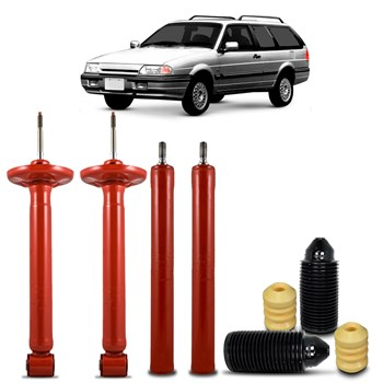 4 Amortecedores Completo Ford Royale 1992 A 1996 + Kit Coxim