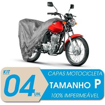 4 CAPAS COBRIR MOTO IMPERMEÁVEL PROTEÇÃO Uv P