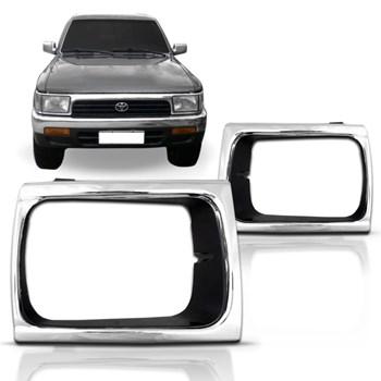 Aro Do Farol Toyota Hilux 4x4 1992 A 2001 Cromado
