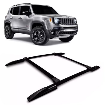 Bagageiro De Teto Jeep Renegade 2015 2016 Rack Acessório