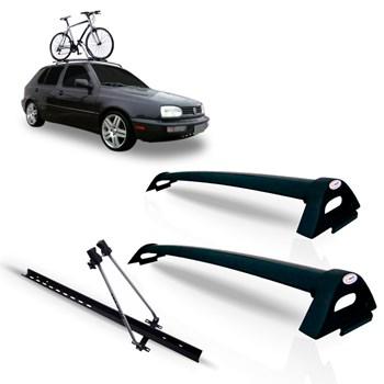 Bagageiro Golf 1994 1995 1996 1997 Preto + Suporte Bicicleta