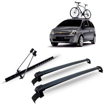 Bagageiro Meriva 2002 A 2011 + Suporte Bike