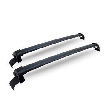 Bagageiro Rack De Teto Nissan March Aluminio Preto