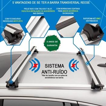 Barra Transversal Crv 2012 A 2018 Com Longarinas Fechadas