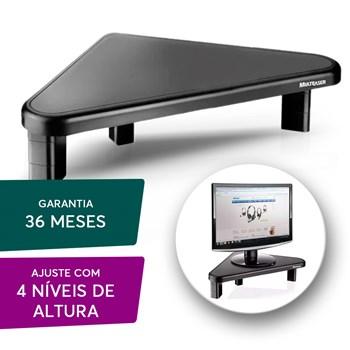 Base Suporte Monitor Multilaser 4 Níveis com Ajuste Preto
