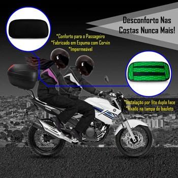 Baú Moto 27 Litros Givi + Encosto Para Passageiro