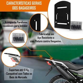 Baú Moto 27 Litros Givi + Suporte Bagageiro Crosser Até 2018