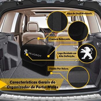 Bolsa Automotiva Porta Malas Peugeot 106 Multiuso Carpete