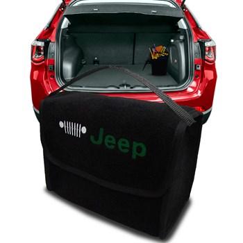 Bolsa De Porta Malas Jeep Multiuso Carpete Preta