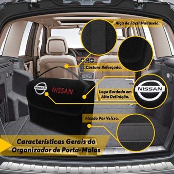 Bolsa Organizadora de Ferramentas para Porta Malas Modelo Nissan