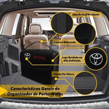 Bolsa Organizadora de Ferramentas para Porta Malas Modelo Toyota
