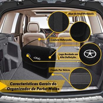 Bolsa Organizadora Multiuso Porta Malas J6 Carpete