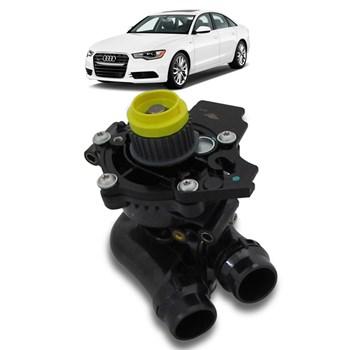 Bomba D'agua Audi A6 2.0 Tfsi 2011 Á 2017 Com Carcaça