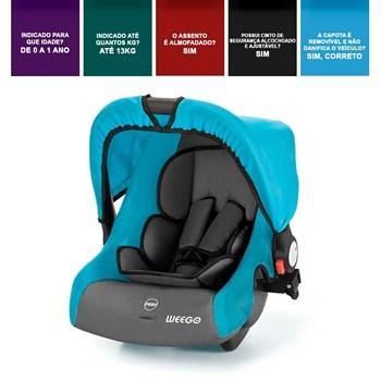 Cadeira Automotiva Bebê Conforto 0-13kg Weego Cozy - 4024
