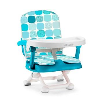Cadeira De Alimentação Portátil Up Seat 6-15kg Azul Weego