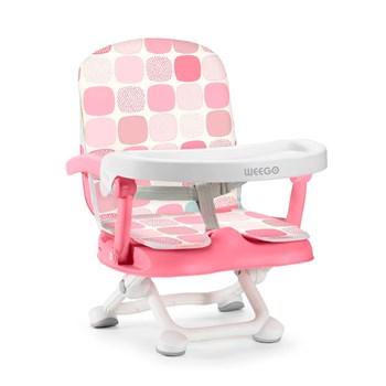 Cadeira de Alimentação Portátil Up Seat 6-15Kg rosa Weego - 4046