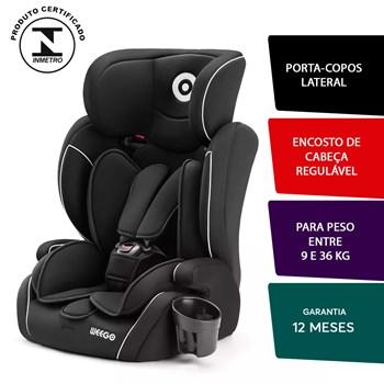 Cadeira Infantil Automotiva Myride 9 a 36 Kg Preto