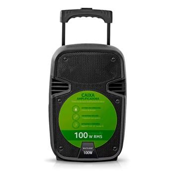Caixa De Som Amplificada 100w Rms Sd/usb/fm Multilaser Sp258