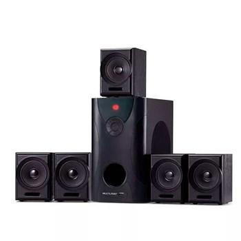 Caixa De Som Home Theather 5.1 80w Rms C/ 5 Caixinhas- Sp291