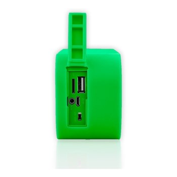 Caixa De Som Portatil Bluetooth, Sd, Fm, Usb 10w Verde Pulse