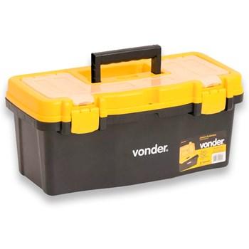 Caixa maleta Plástica Para Ferramentas Cpv0405 Vonder
