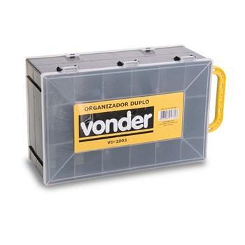 Caixa Organizadora Plastico Dupla Vd2003 Vonder