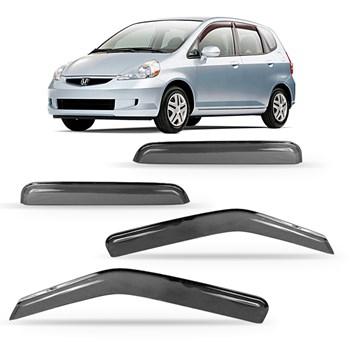 Calha Chuva Honda Fit 2003 À 2008 4 Portas