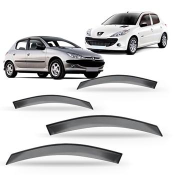 Calha Chuva Peugeot 206 1999 A 2010 207 2008 A 2015 4 Portas