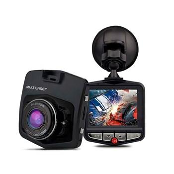Câmera Automotiva Dvr Fit Full Hd Preto Multilaser