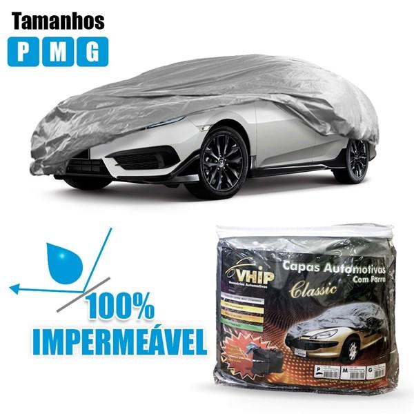Capa Automotiva Forrada Com Proteção Solar Impermeavel