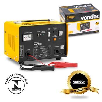 Carregador De Bateria Caminhão Cbv1600 Vonder 110v