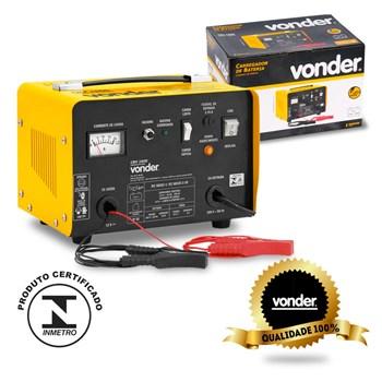 Carregador De Bateria Portátil 12 Volts Cbv1600 Vonder 220v