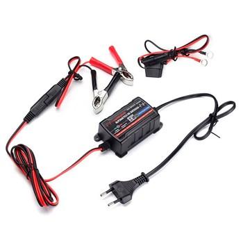 Carregador Mantenedor Automatico De Bateria 750ma