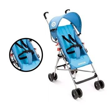 Carrinho De Passeio Bebê Guarda-chuva Weego Way Azul - Bb507