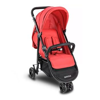 Carrinho Passeio Para Bebê 03 Rodas Weego Jogger Preto 4018
