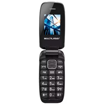 Celular Multilaser Flip Up P9022, Dual Chip Vga Bluetooth