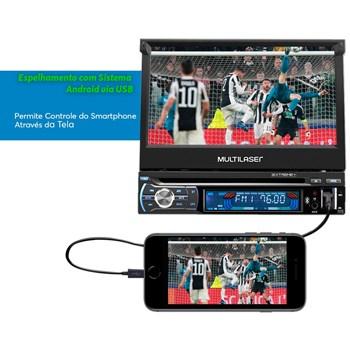 Dvd Automotivo Retrátil 7 Polegadas + Mini Geladeira Tv010