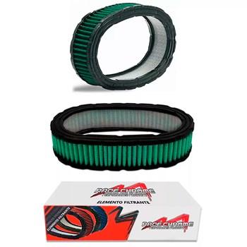 Elemento Filtrante Para Carburador Com Tecido Verde