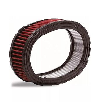 Elemento Filtrante Para Carburador Com Tecido Vermelho