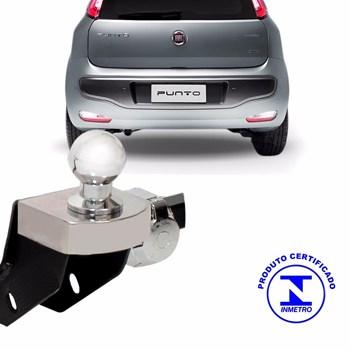 Engate Reboque Fiat Punto 2007 A 2017 Fixo 700 Kg