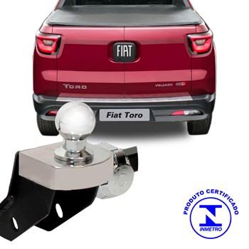 Engate Reboque Fiat Toro 2017 2018 4x2 4x4 Removivel 1200 Kg