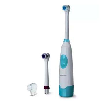 Escova Dental Elétrica Adulto A Pilha Rotacional Super Healt