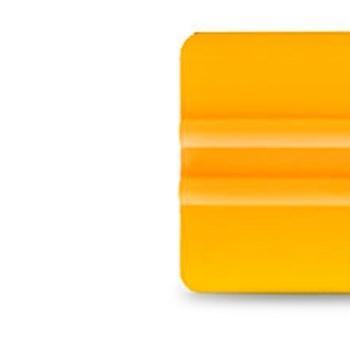 Espátula Para Aplicação De Insulfilme Amarelo Flexível