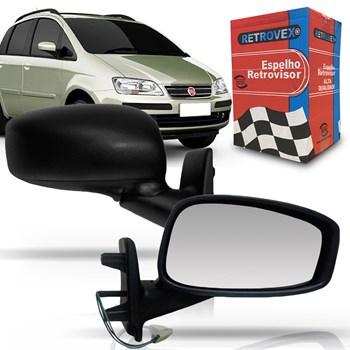 Espelho Retrovisor Fiat Idea 2005 A 2001 Elétrico