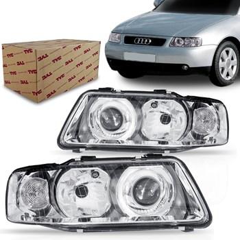 Farol Audi A3 2001 2002 2003 2004 2005 2006