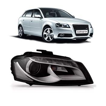 Farol Audi A3 Sportback 2009 2010 2011 2012 Eletrico C/led