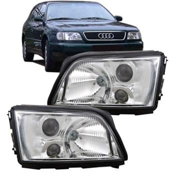 Farol Audi A6 Ano 1994 1995 1996 1997 Sem Auxiliar