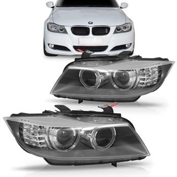 FAROL BMW 320 2008 A 2010 ELETRICO SEM XENON COM PROJETOR